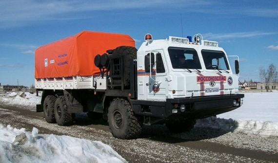 «Алмаз-Антей» выпустил новый арктический вездеход для МЧС