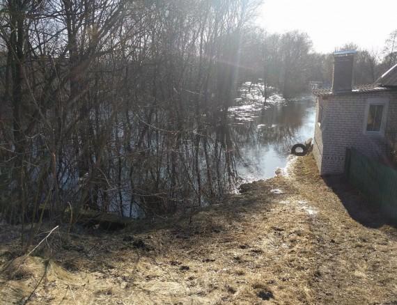 ВБрянске вода вДесне засутки поднялась на44 сантиметра