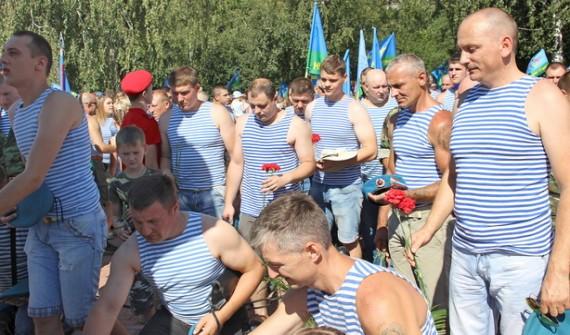 ВБрянске отмечается День Воздушно-десантный войск